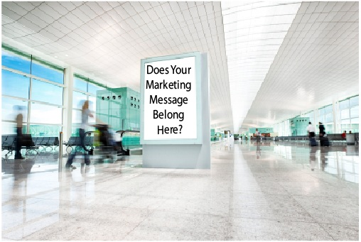 media for your marketing message